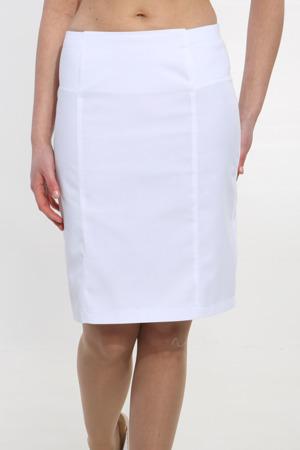 Biała Spódnica medyczna damska Apolonia SP 69