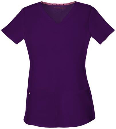 Bluza medyczna damska fioletowa Heartsoul 20710