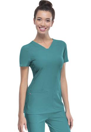 Bluza medyczna damska zielona Heartsoul 20710