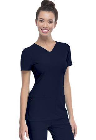 Granatowa bluza medyczna damska Heartsoul 20710