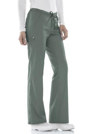 Oliwkowe spodnie medyczne Cherokee Luxe 1066